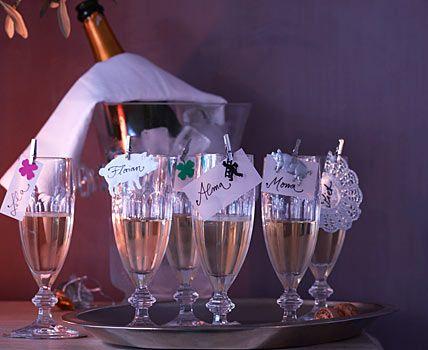 Prosit Neujahr! - Dekoration für die Silvester-Party 2