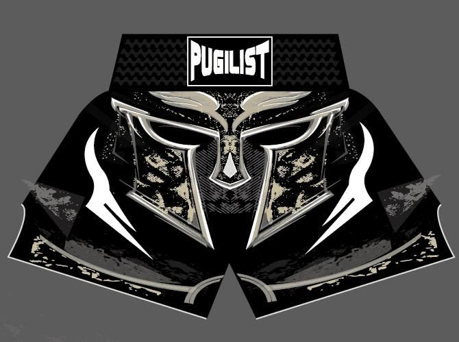 PUGILIST MMA short helmet MUAY THAI SHORTS FIGHT SHORTS Muay Thai kickboxing shorts