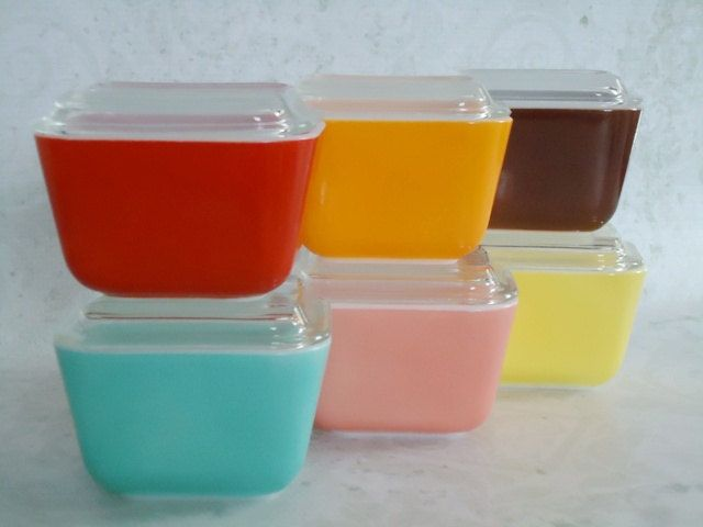 Pyrex Small Casserole Collection - A Collector's Dream Set.