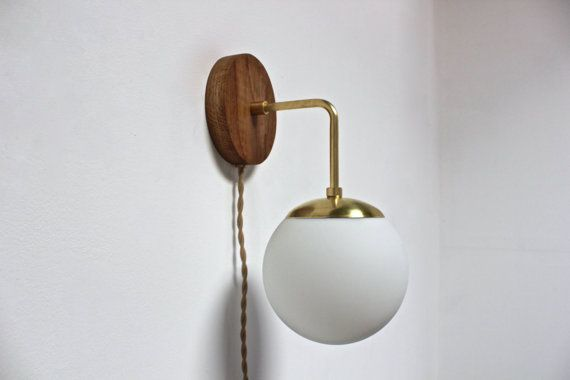 Plug In Wall Sconce Glass Shade : Best 25+ Plug in wall sconce ideas on Pinterest Plug in chandelier, Repair indoor walls and ...