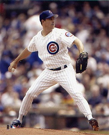 Greg Maddux! The best pitcher I've ever seen.