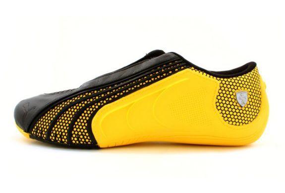 puma yellow ferrari shoes