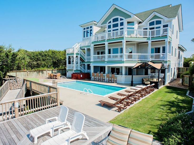 Outer Banks NC Destination Wedding Idea Rent A House With Private Beach