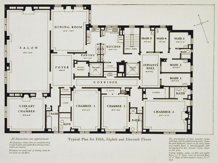 94 best images about manhatan on pinterest mansions for Highgrove house floor plan