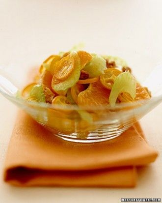 """See the """"Honey Tangerines and Kumquats with Walnuts and Shaved Celery"""" in our Tangerine Recipes gallery"""