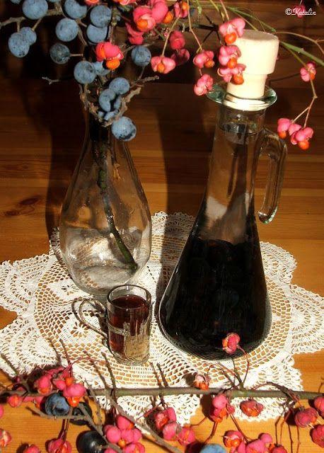 Katalin konyhája: Kökény likőr