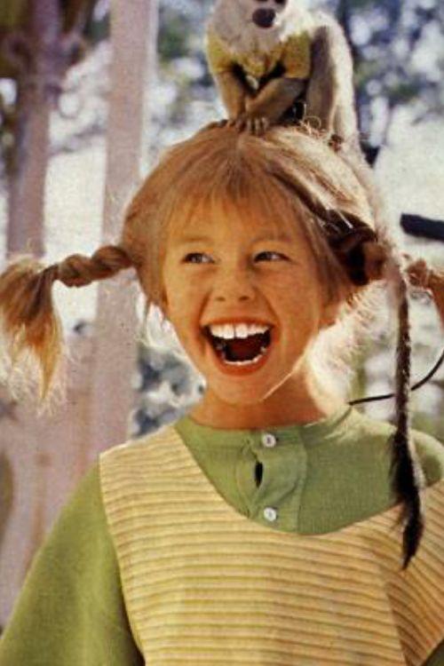 Inger Nilsson As Pippi L 229 Ngstrump 1969