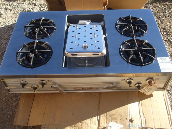 """Chambers Stainless 42"""" Gas Gourmet Cooktop Broiler Griddle ..."""