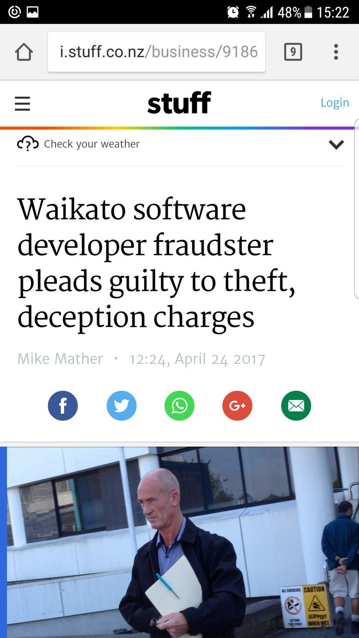 Finally brian duffell of Matamata, New Zealand admits his guilt.