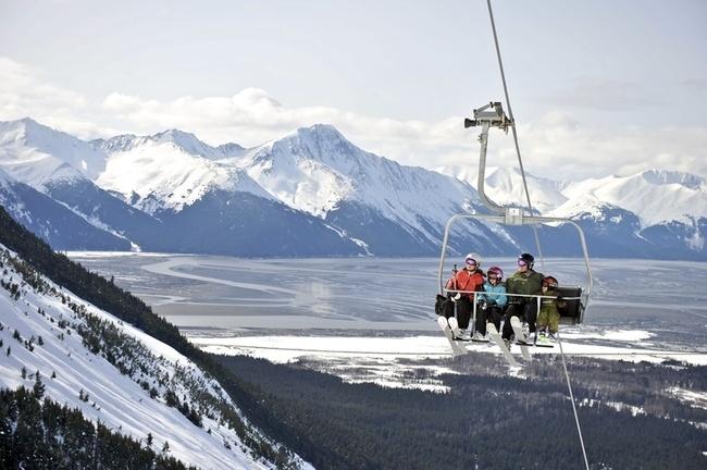 Aleyska Resort, Girdwood, Alaska #Alaska  #mountains