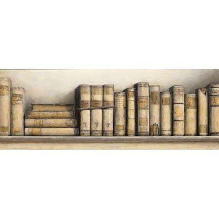 Study in Cream Canvas Art - Arnie Fisk (24 x 48)