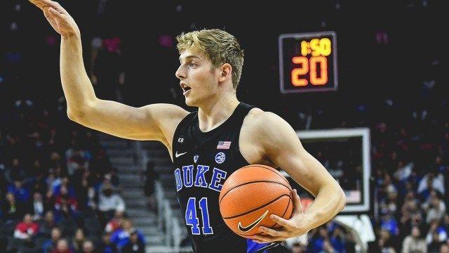 Duke Basketball - Jack White  - Australian sophomore has a great game against Notre Dame 01-29-18