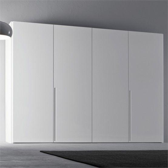 Fabulous Minimalist Furniture For Interior Home Design: White-wardrobe-for-minimalist-interior-design-orizzonte
