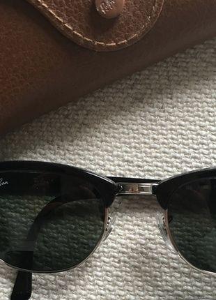 À vendre sur #vintedfrance ! http://www.vinted.fr/accessoires/lunettes-de-soleil/23624794-lunettes-clubmaster-ray-ban-noires