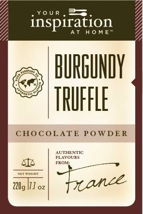 Burgundy Truffle Chocolate Powder #yiah #chocolate