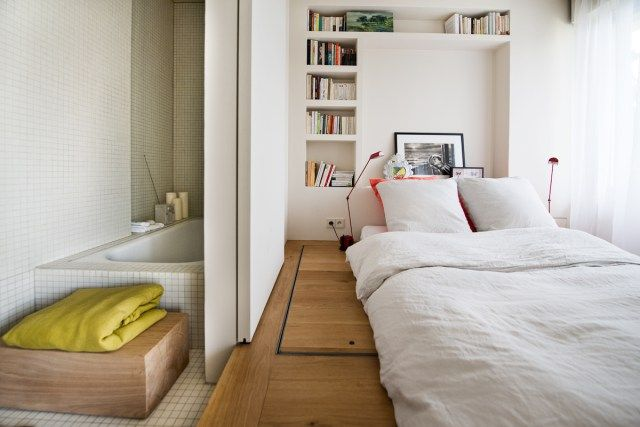 36 best chambre bed room images on pinterest bed room for Chambre flat design