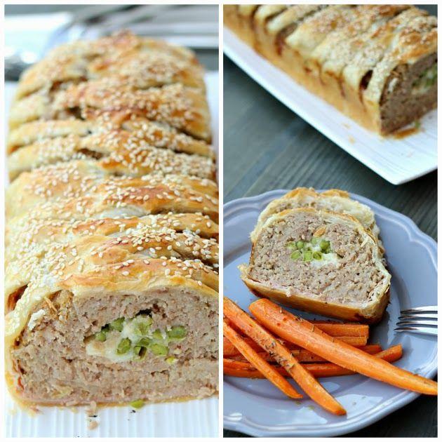 Polpettone in crosta con carote arrostite | Chiarapassion