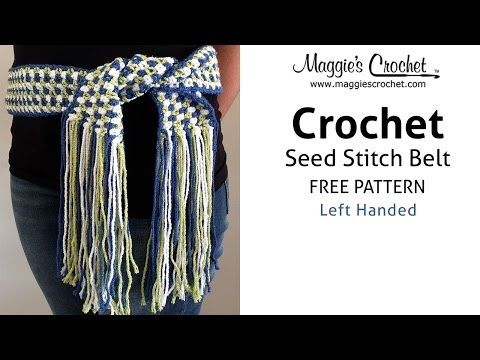 Crochet Patterns Left Handed : ... Left Handed) - Crochet Patterns! sur Pinterest Crochet libre