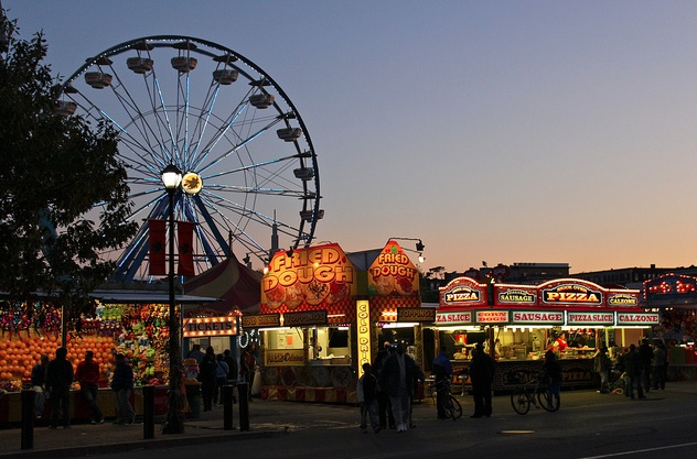 I need to visit on my birthday at done point :) Salem Massachusetts Halloween Carnival