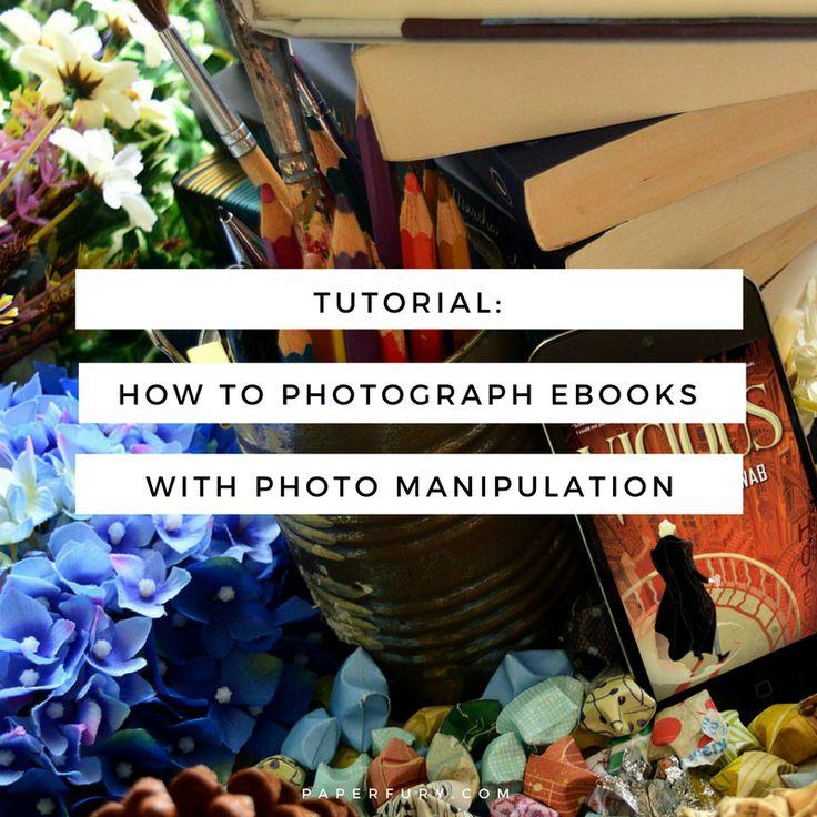 Tutorial: How to Photograph eBooks Using Free Photo Manipulation on Pixlr