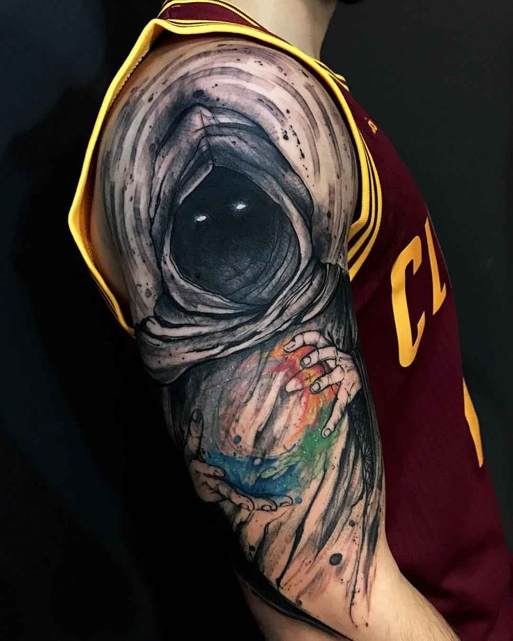 shoulder tattoo elements