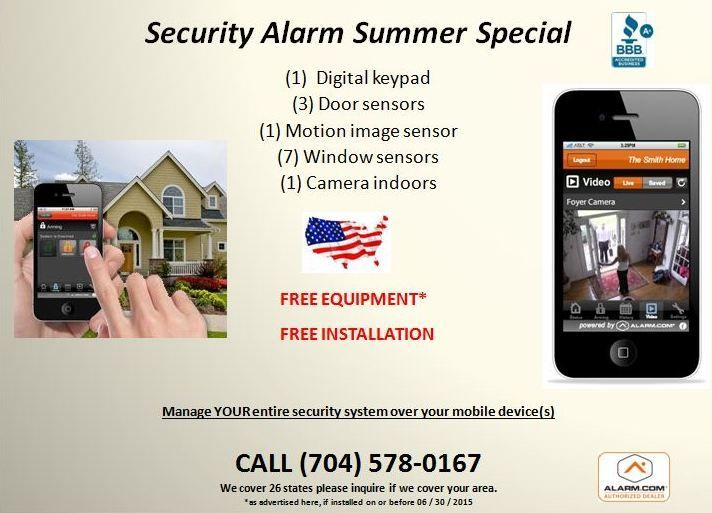 Dont get robbed while on vacation or at work protect yourself dont get robbed while on vacation or at work protect yourself loved ones with a free superior security alarm system control your home via your solutioingenieria Images