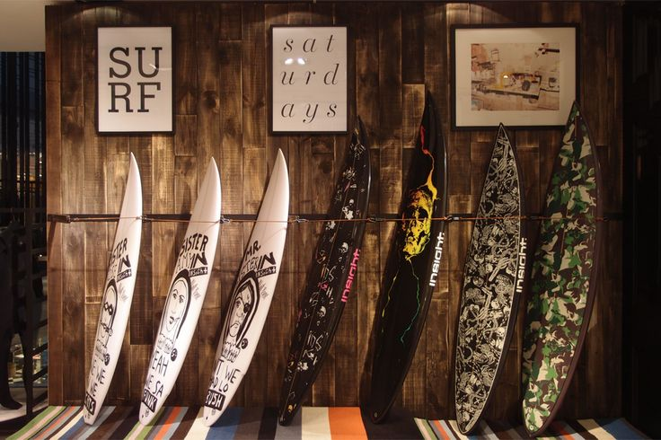 surf shop interior design - Google Search