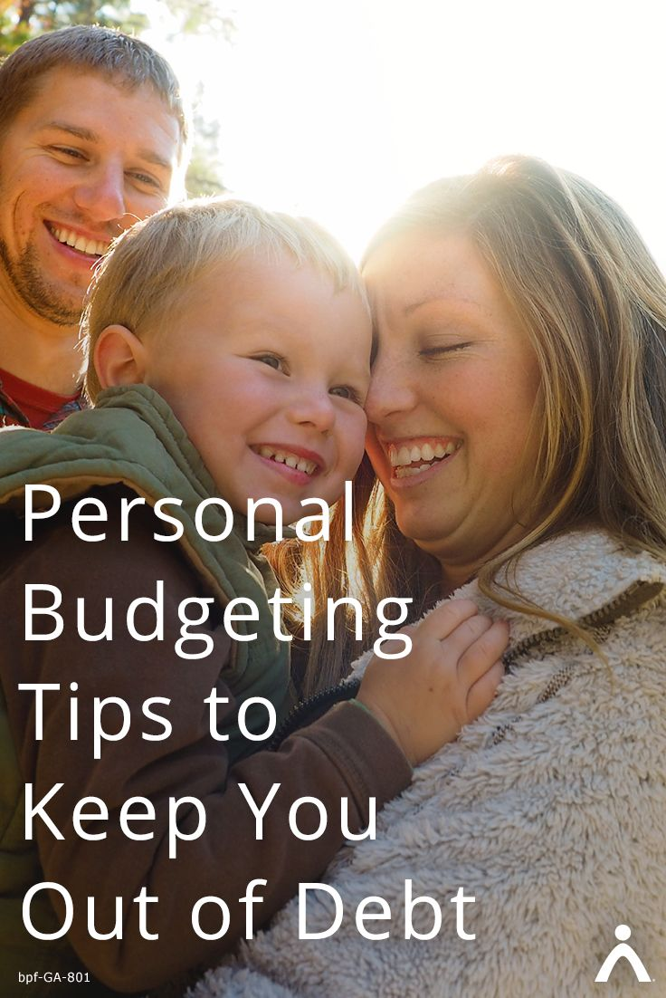 First things first: having a budget is key if you want to get out of debt and stay out. Here are 4 other personal budgeting tips to help keep you out of debt: https://www.brightpeakfinancial.com/advice/debt/personal-budgeting-tips-keep-you-out-debt/