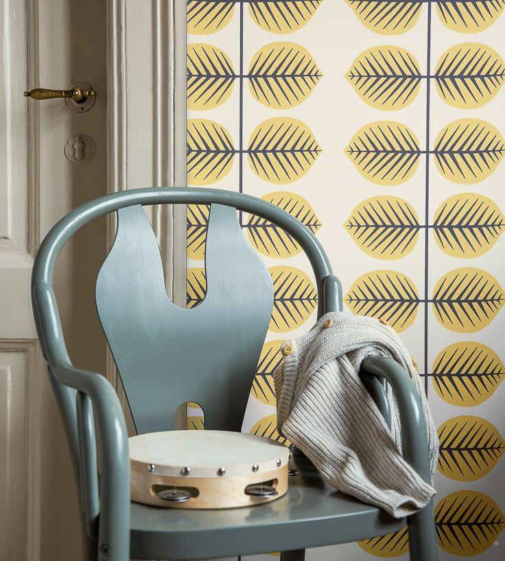 How To Style Nurseries | Bersa II Wallpaper by Borastapeter | Jane Clayton