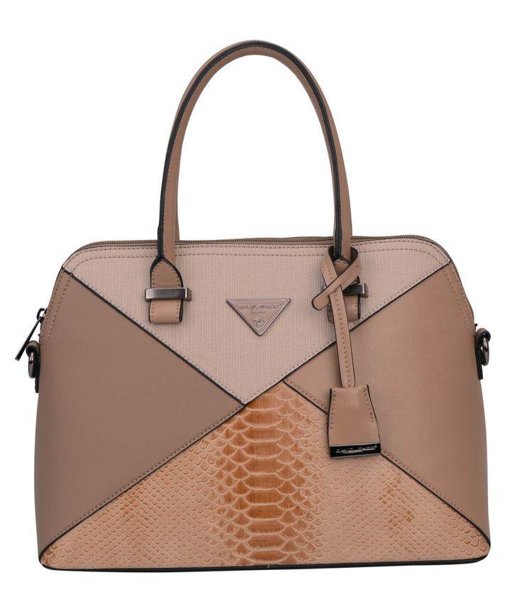 David Jones Camel Bag