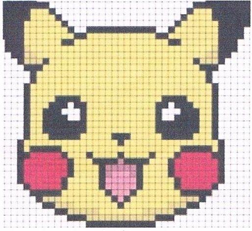 Souvent Plus de 25 idées uniques dans la catégorie Pikachu pixel sur  EE69