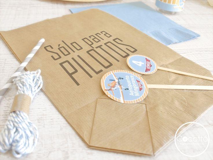 ideas para fiestas de cumpleaos imprime tus bolsas kraft desde la impresora de casa