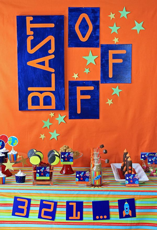 84 best space birthday party ideas images on pinterest for Outer space theme