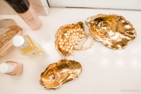 Inspired Idea: Oyster Shell Trinket Trays