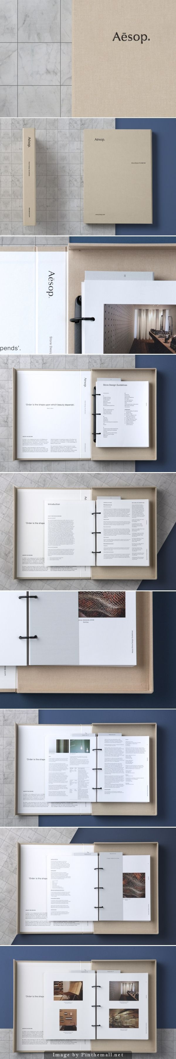 U-P – Design Guidelines for Aésop #branding #identity: