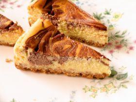 「チョコマーブルチーズケーキ」ケーキ教室cute | お菓子・パンのレシピや作り方【corecle*コレクル】