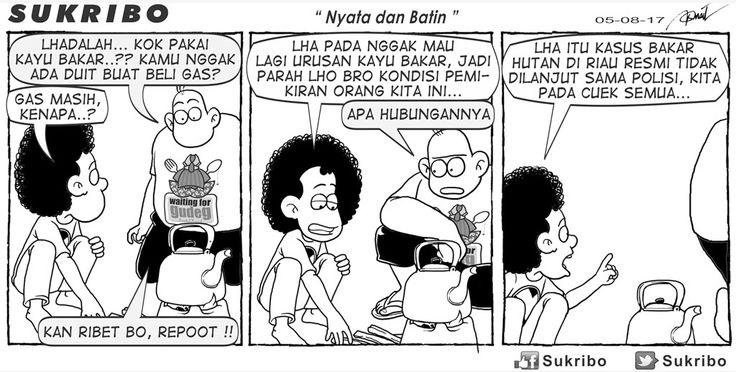 SUKRIBO -  NYATA & BATIN Karya: Faisal Ismail Sumber: Kompas Minggu - 06 Agustus 2017 (KLIK gambar untuk memperbesar)