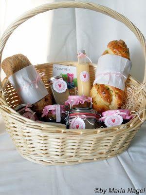Geschenke aus der Küche - Korb voller Liebe