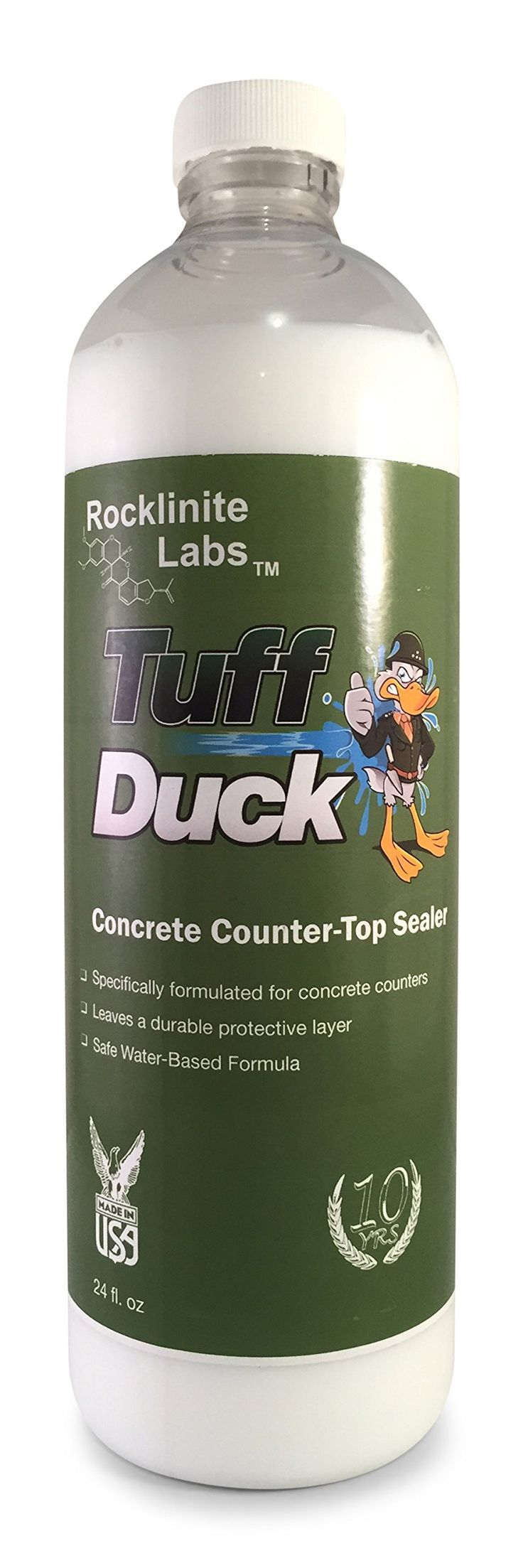 Rocklinite Labs Tuff Duck Concrete Countertop Sealer - 750ml (24 oz)