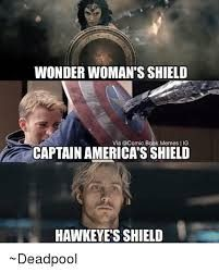If you don't think about this as a joke and really see that Pietro sacrificed himself for Hawkeye, then his shield is the most amazing. 'Cause that shield didn't last forever, it was built by trust and love. Compassion, humanity. And those materials are way stronger than vibranium. Just saying.  #pietroistherealhero