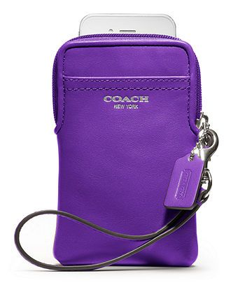 COACH LEGACY LEATHER UNIVERSAL CASE - Tech Cases Accessories - Handbags Accessories - Macy's