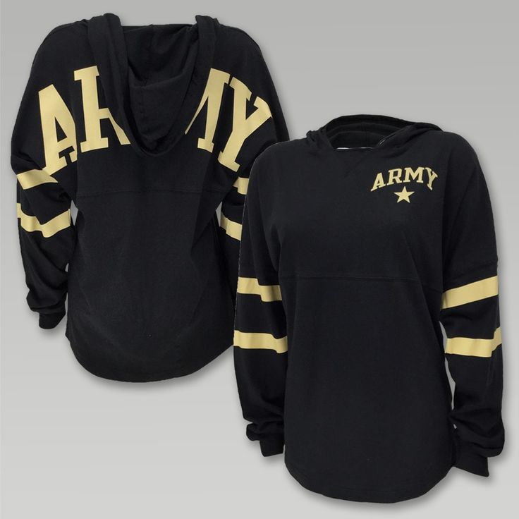 The League Army Ra Ra Hoody offers a great lightweight feminine design we think you will love. &nbsp  100% Cotton Womens Oversize Fit TShirt weight V-Notch neckline Flattering hemline Self fabric draw string  Front and back screen print