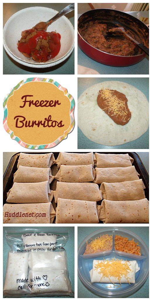 how to make easy burritos
