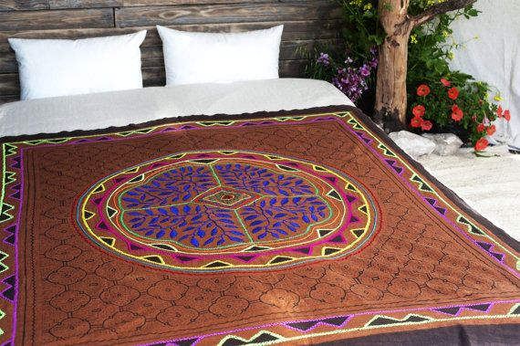 SOLD OUT Shibipo handmade embroidery  Traditional & One of by ShamanicaArts