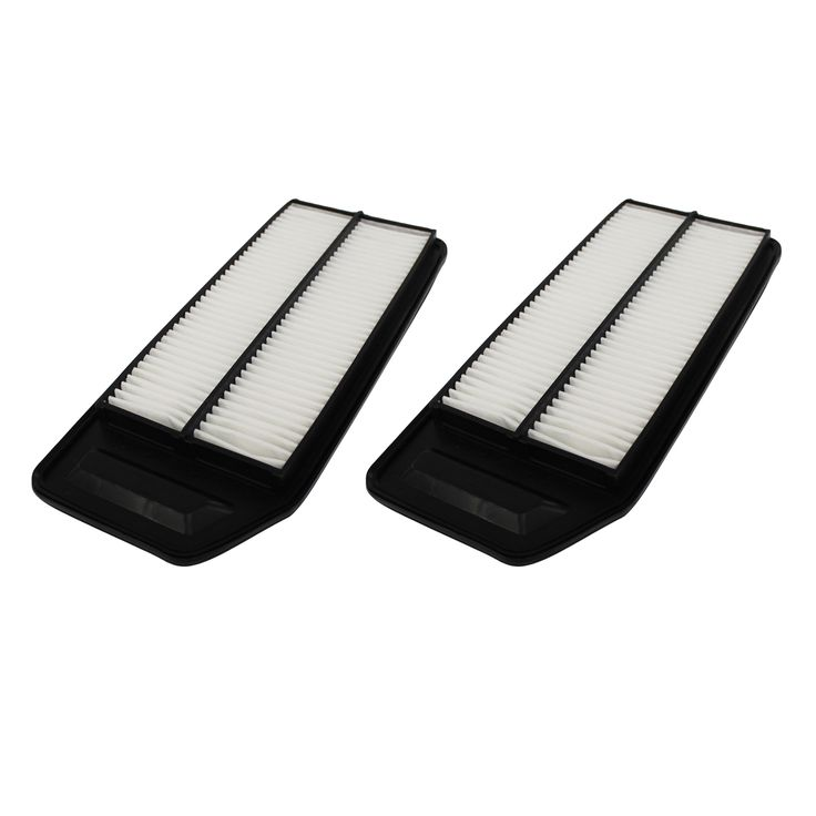 Crucial 2 Rigid Panel Air Filters Fit Acura and Honda Compare to Part # A25503 and CA9564