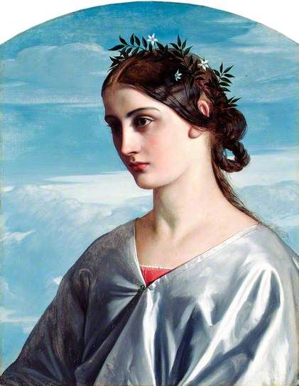 Beatrice, 1859 by William Dyce (Scottish 1805-1864)