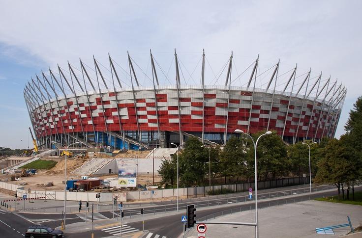 National Stadium in Warsaw (poland)
