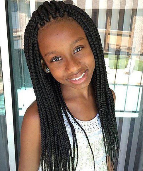 15 süße Frisuren für schwarze Mädchen