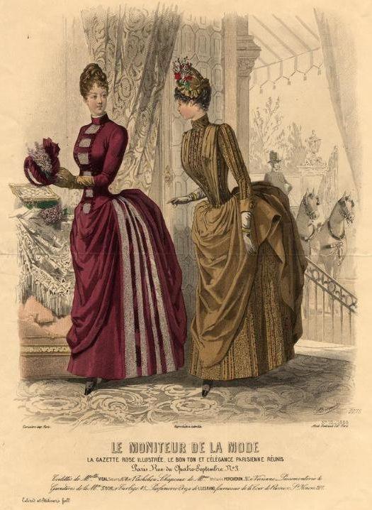 Le Moniteur de la Mode 1886