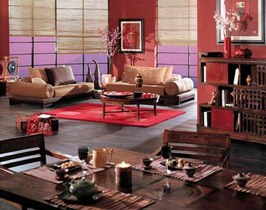 Modern Chinese Living room ideas to Celebrate Chinese new year - Modern Homes Interior Design and Decorating Ideas on Decodir